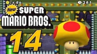 Let's Play New Super Mario Bros. Part 14: Mini Mario vs. Mutant Tyranha