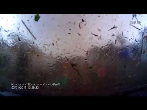 Шокирующее видео: ураган в Башкирии