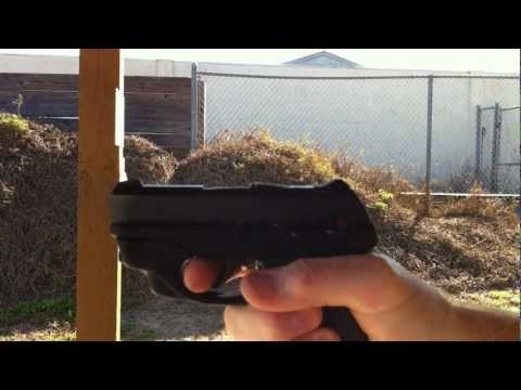 Ruger LC9 Trigger with Galloway Trigger Kit at the Range