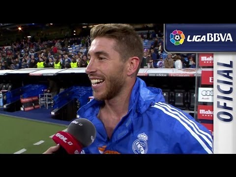 Interview Ramos after Real Madrid (4-0) Osasuna - HD