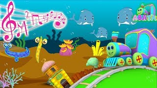 Underwater Marine Learn With Alif Ba Ta Song For Children and Kids | Abata Channel