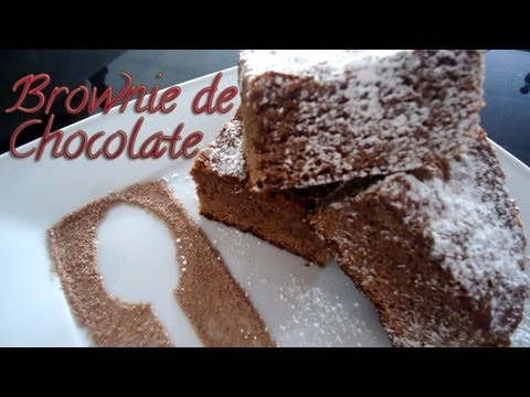 BROWNIE DE CHOCOLATE ~ MariquisTuts ★