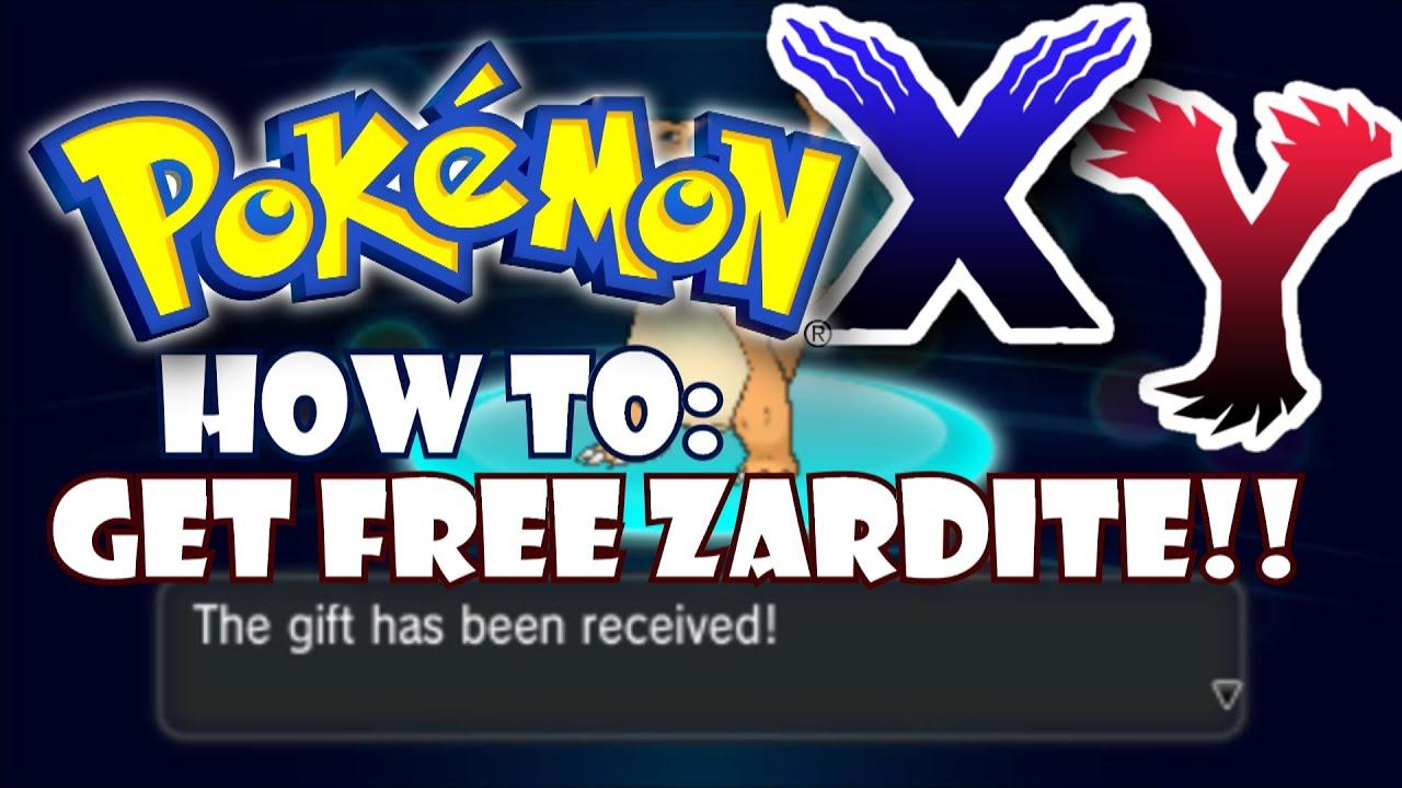 pokemon y how to get charizardite