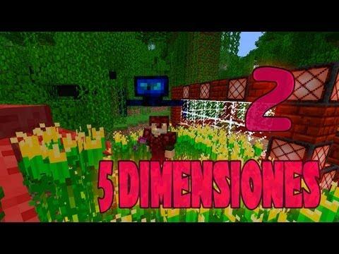 DIRECTO - 5 DIMENSIONES - Ep.2  - Minecraft Mod Mini-Serie