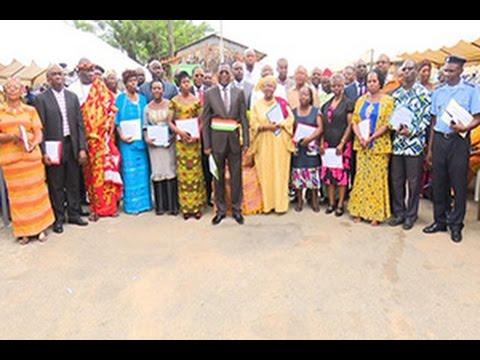 Le programme Millenium Challenge Corporation installe un  comité communal à Attécoubé