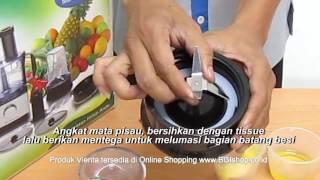 Vienta - Tips Perawatan Mata Pisau Vienta Food Processor