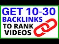 How To Create HIGH QUALITY Backlinks - Backlink Generator thumbnail