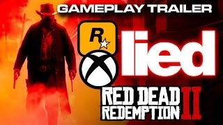 Rockstar Games and Microsoft lied about Red Dead Redemption 2 - Colteastwood 4K Gameplay