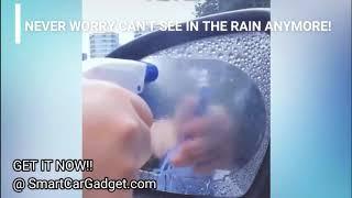 Smart Car Rearview Mirror Waterproof Anti-Fog Rain-Proof Film Side Window Glass Film