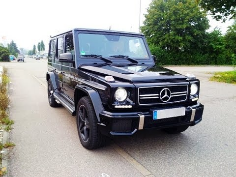 Mercedes g63 amg v8 biturbo 544 ps sound autobahn topspeed for How much is a mercedes benz g63