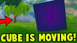 WHAT IS THE CUBE DOING in Fortnite!?!?!?
