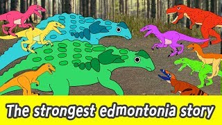 [EN] The strongest edmontonia story, dinosaur names for children, kids dinosaurs animationㅣCoCosToy