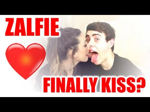 ZALFIE! Zoe and Alfie Finally Kiss? (Read the description ...