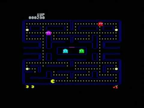 Pac-Man (6502 code) on a ATMega computer