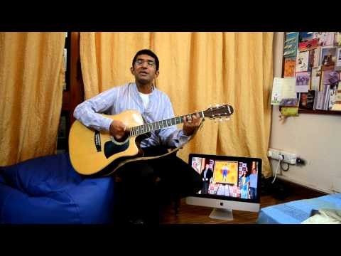 Jeena yahan marna yahan on guitar..!(movie-mera naam joker)(...