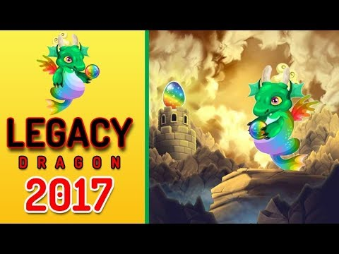 How To Get Legacy Dragon By Breeding In Dragon City | Breed Legacy Dragon Easy 2017