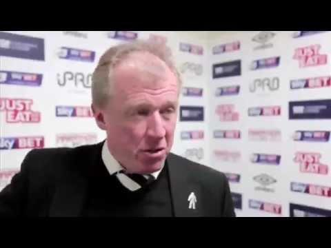 DERBY COUNTY 3-2 SHEFFIELD WEDNESDAY | Steve McClaren Post Match