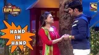 Kapil & Sarla, Hand In Hand - The Kapil Sharma Show