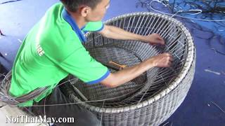 Ghế trứng nhựa giả mây làm từ khung sắt mạ kẽm sơn tĩnh điện đan sợi tròn nhựa giả mây kháng UV