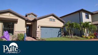 New Homes in  Florida    by Pulte Homes   Portside Floorplan
