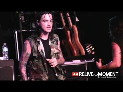 2012.08.03 Like Moths to Flames - Learn Your Place NEW SONG (Live in Des Moines, IA)