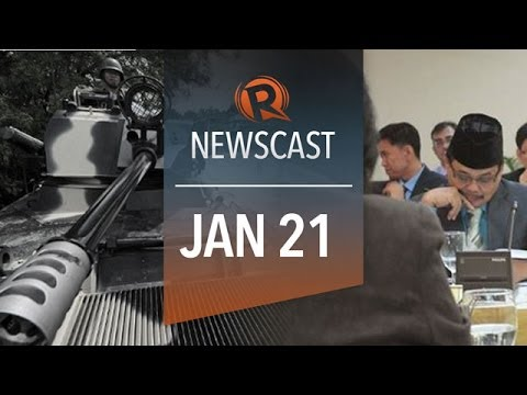 Rappler Newscast: GPH-MILF talks, Aquino on Corona trial, Syria talks