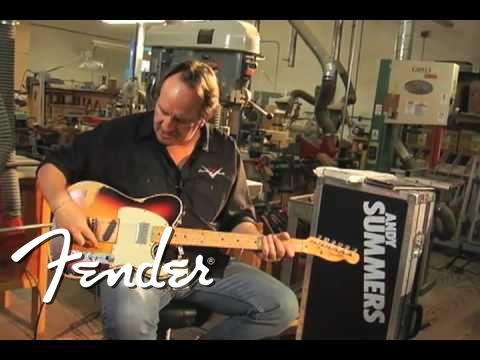 Andy Summers Tribute Telecaster guitar Music Videos