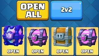 TWO LEGENDARIES FROM CHESTS! :: Clash Royale :: LEGENDARY CHEST & MAGICAL CHEST OPENING