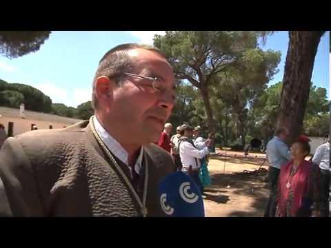 Rezo del Ángelus de la Hermandad del Rocío de Hinojos por Condadovisión