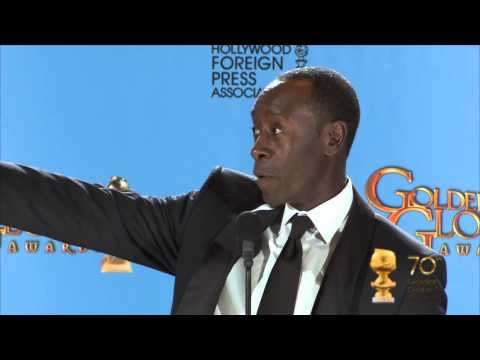 Backstage with Don Cheadle, best actor TV series/comedy