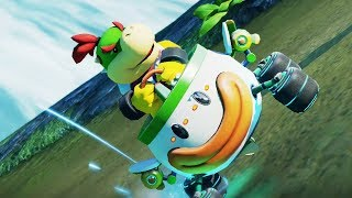Mario Kart 8 Deluxe - Star Cup 150cc (Bowser Jr. Gameplay - New Character)