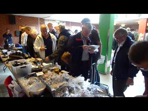 SK0QO Amateur Radio Fleamarket in Haninge Sweden, October 3 2009