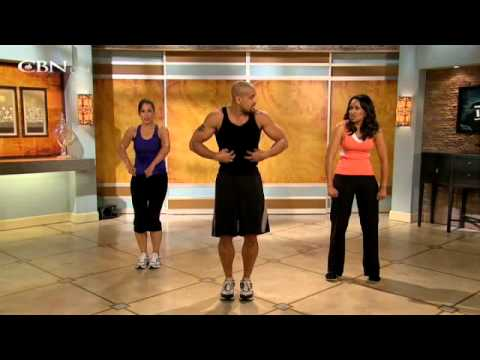 Shaun T on the 700 Club | Hyper Life Fitness