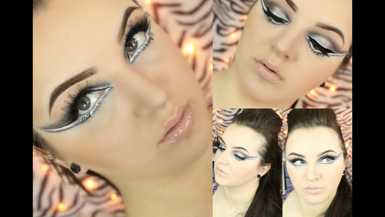 glam rock makeup tutorial