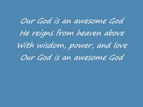 Awesome God - Rich Mullins W  Lyrics video