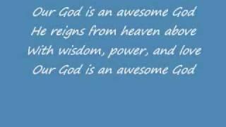 Awesome God - Rich Mullins w/ Lyrics