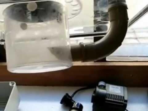 Skimmer DIY com bomba PSK 600