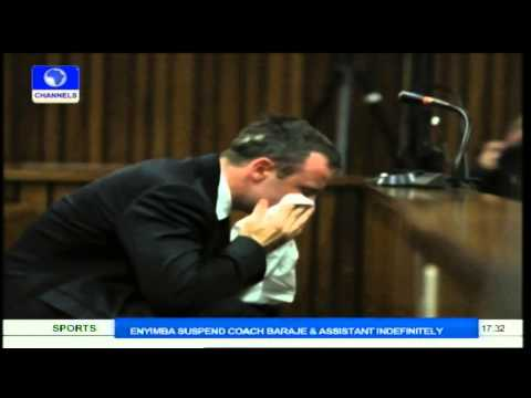 Oscar Pistorius Tearfully Describes Last Moment With Girlfriend