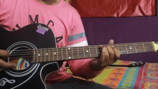 Jag Ghoomeya female version guitar tabs from movie SULTAN