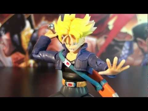 R206 Bandai S.H. Figuarts Dragon Ball Z Kai Future Teen Trunks Action Figure Review