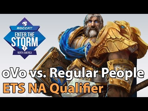 ► Heroes of the Storm Pro Gameplay: oVo vs. Regular People - ETS NA Qualifier