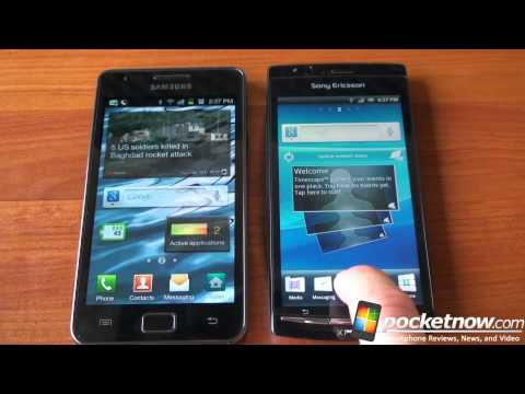 Video: Xperia Arc vs. Galaxy S 2