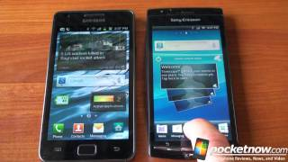 Xperia Arc vs. Galaxy S 2