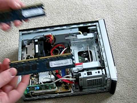 hp slimline how to open and construct youtube