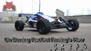 RedCat Rampage XB 1/5th Scale Gasoline Buggy Unboxing