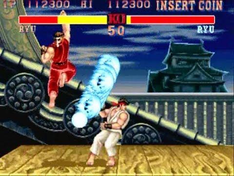 Arcade automat street fighter