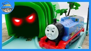 Thomas and friends train became a ghost. Train toys for children.