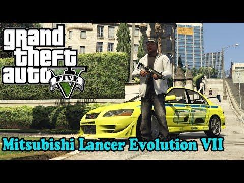 Mitsubishi Lancer Evolution VII 1.1