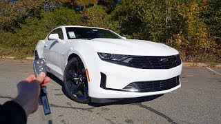 2019 Chevrolet Camaro 1LT RS: Start Up, Exhaust, Test Drive and Review