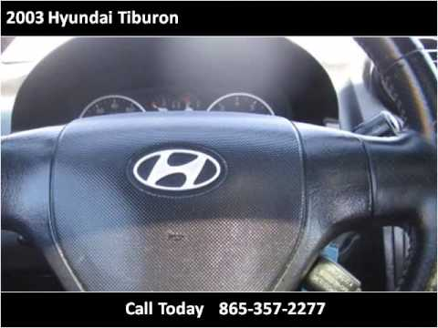 2003 Hyundai Tiburon Used Cars Knoxville TN